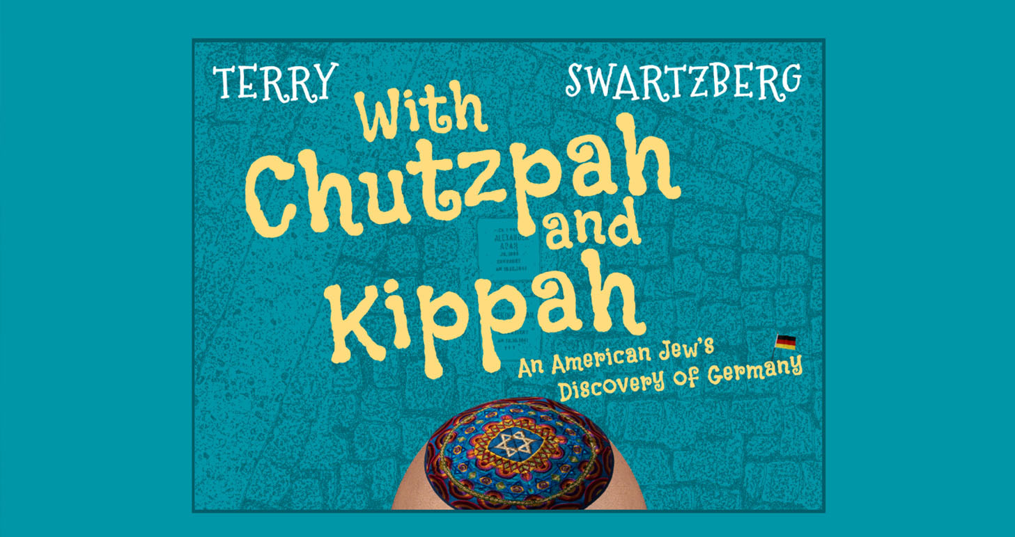 A book about the kippah experiment of a Jewish man in Germany