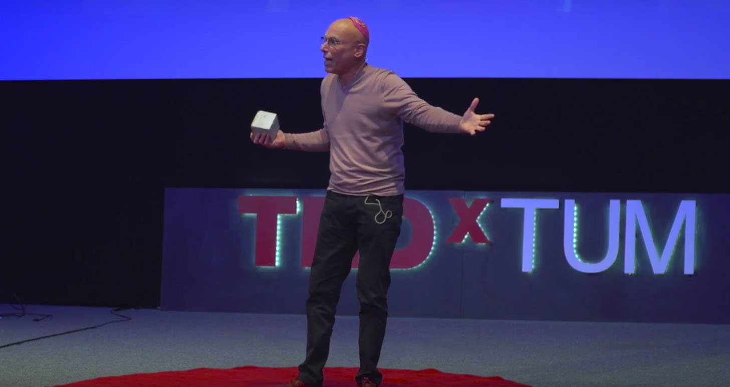 A TEDxTUM inspirational talk by Munich based Terry Swartzberg
